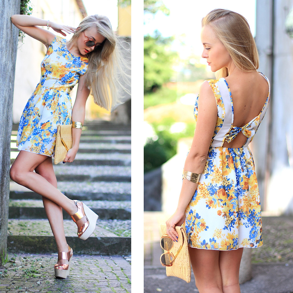 Sizzle this Summer in Floral Dresses That Hollywood ...