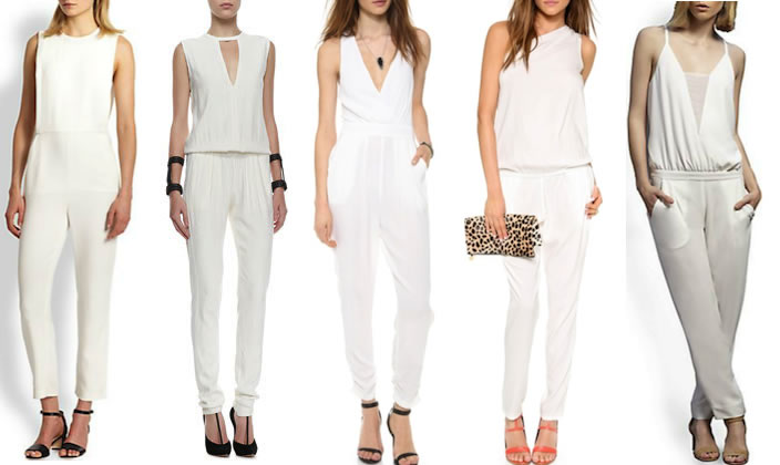 The Classy and Elegant White Jumpsuit – Trendy View